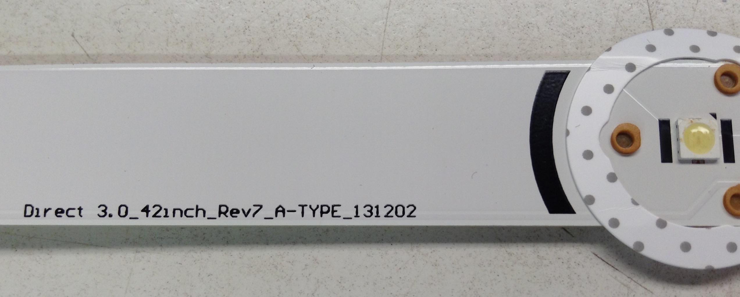8 LG NC420DUN-VUBP1 LED Backlight Strips 42LB5800 42LB5600